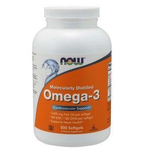 Holland & Barrett Olej z Wątroby Dorsza z Wiesiołkiem 500 mg 60
